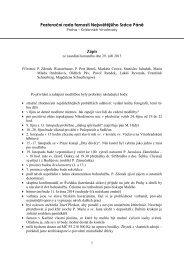 Zápis ze zasedání 29. 9. 2013 - Nejsvětější Srdce Páně Praha ...