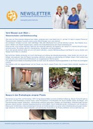 NEWSLETTER - Gastroenterologische Gemeinschaftspraxis Herne