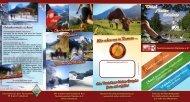 Sommerprogramm 2013 - Vital Natur Erlebnis Gastgeber