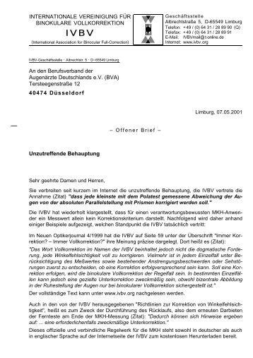 (BVA) Tersteege - IVBS – Internationale Vereinigung für binokulares ...