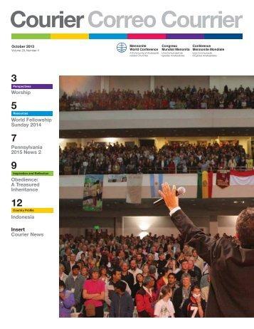Oct - Mennonite World Conference