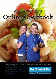 96.5 Wave FM's Online Cookbook