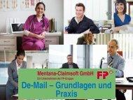 De-Mail - Grundlagen und Praxis - eBusiness-Lotse Südbrandenburg