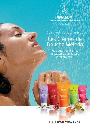 Les Crèmes de Douche Weleda