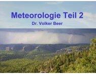 Meteorologie Teil 2 - Leipzig