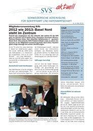 Nr. 4 Mai 2013.pdf - Schweizerische Vereinigung für Schifffahrt und ...