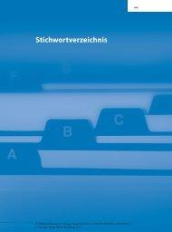 Stichwortverzeichnis - Springer