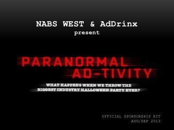 NABS WEST & AdDrinx present