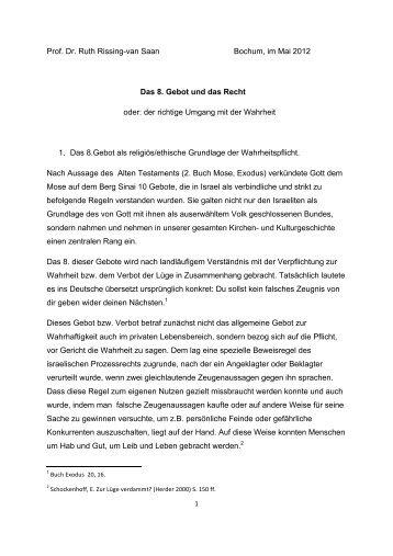 Das 8. Gebot - Palliativtage-sylt.de