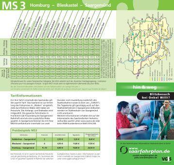 Fahrplan MS3 - VGS-Online