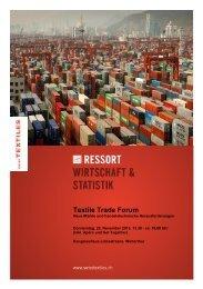 Programm - Textilverband Schweiz