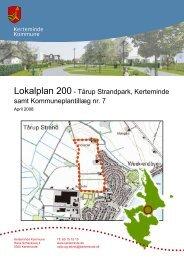 Lokalplan 200 - Tårup Strandpark, Kerteminde samt ...