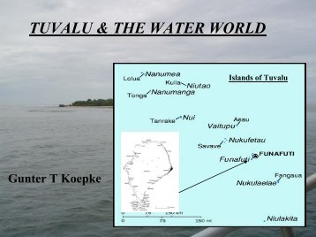 TUVALU & THE WATER WORLD - WHYCOS