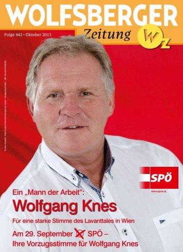 Wolfgang Knes - Wolfsberger Zeitung