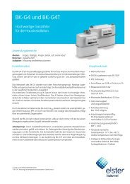 Prospekt - GWF Messsysteme AG