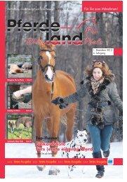 Pferdeland RLP Ausgabe Dezember 2013 - PDF Download