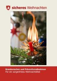 sicheres Weihnachten