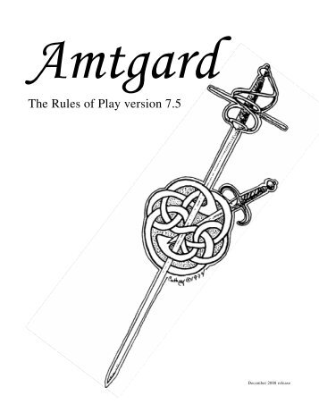 Amtgard 7 5 rules for dating 2