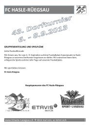 FC Hasle-Rüegsau