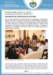 ENCUENTRO DE JUVENTUD EN LOS ALISOS - Dirección de Prensa