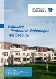 Exklusive Penthouse-Wohnungen mit Seeblick - VW Immobilien