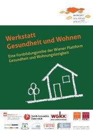 Werkstatt Gesundheit und Wohnen (PDF) - Plattform Gesundheit ...