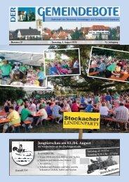 Streichelzoo - Gomaringer Verlag