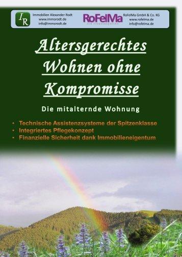Broschüre - Immobilien Alexander Rodt