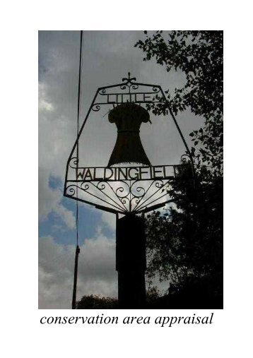 Little Waldingfield 2007 - Babergh District Council
