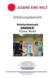 Johannes K. (pdf) - Jugend Eine Welt