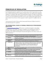 PRINCIPLES OF REGULATION - ReproLinePlus