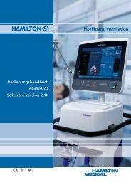 Bedienungshandbuch 624303/02 Software version 2.1X - Interne ...