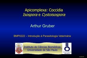Isospora e Cystoisospora Arthur Gruber - USP