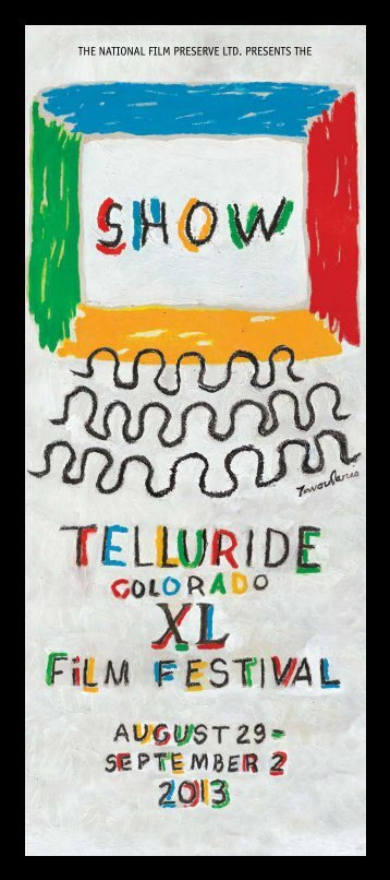 program guide - Telluride Film Festival