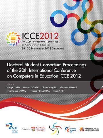 ICCE 2012 Doctoral Student Consortium Proceeding E-Book