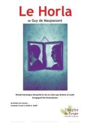 Le Horla - Dossier pédagogique (pdf - 1,25 Mo) - Cormeilles-en ...