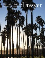 September 2013.pdf - Santa Barbara County Bar Association