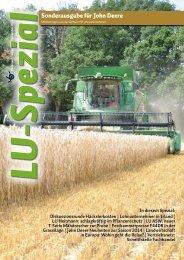 Sonderausgabe für John Deere - Fischer Landmaschinen