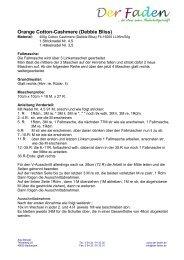 downloaden - kostenlose Anleitung - Pullover aus ... - Der Faden