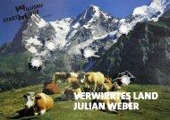 VERWIRRTES LAND JULIAN WEBER - Stadtmühle Willisau