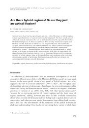 Are there hybrid regimes? Or are they just an optical ... - Studium