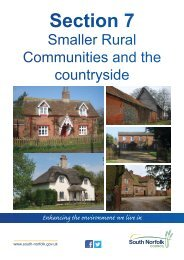 Small Rural Communities - South Norfolk Council