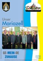Mariazell Oktober 2013 - Mariazellerland Blog
