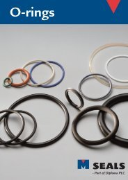 O-rings - M Seals