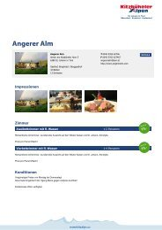 Angerer Alm - Kitzbüheler Alpen St. Johann in Tirol