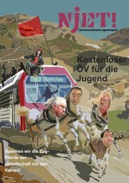 Njet! März 2013 - Website der Kommunistischen Jugend Schweiz