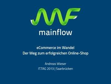 eCommerce im Wandel Der Weg zum ... - IT-Tag Saarland