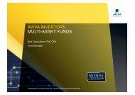 AVIVA INVESTORS MULTI-ASSET FUNDS - Events-Hub