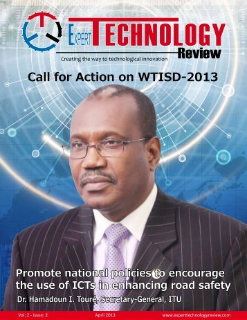 Call for Action on WTISD-2013 - ETR Home