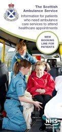 Patient Leaflet - Scottish Ambulance Service